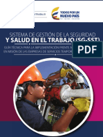 Guia Tecnica Para La Implementacion Del SG SST Frente a Los Trabajadores