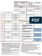 2018-19 professional development and preparation days calendar