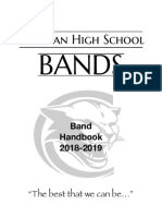 croatan band handbook