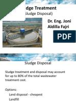 Sludge Treatment_Sludge Disposal
