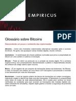 32-Glossario Sobre Bitcoins