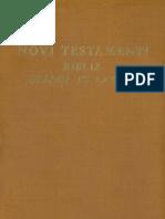 Novi Testamenti Biblia Graeca et Latina