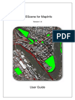 GEScene for Mapinfo User Guide
