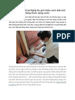 Công Ty Diệt Mối Tại Nghệ an Giới Thiệu Cách Diệt Mối Bằng Thuốc Dạng Nước