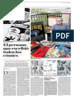 El Peruano Que Escribió Todos Los Comics