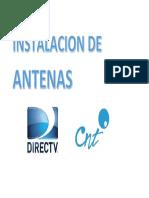 Instalacion de Antenas Subir