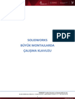 Solidworks Buyuk Montajlarda Çalişma Klavuzu
