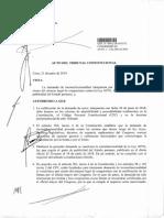 TC admite a trámite demanda de inconstitucionalidad