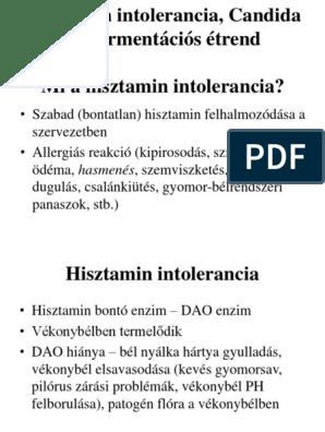 hisztamin parazita