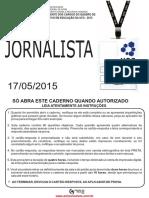 Jornalista - UFG 2015