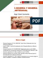 Pequeña Minería y Minería Artesanal Del Perú