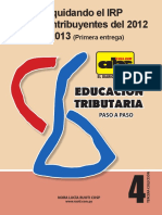 Educacion Tributaria - Numero 4 - Nora Lucia Ruoti - Febrero 2013 - Portalguarani
