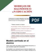Modelos de Diagnóstico