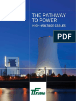 - TFKable. the Pathway to Power. High-Voltage Cables