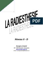 Radiesthesie Niveau II