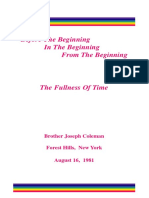 The Fullness of Time 1981