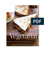 Canadian Living The Vegetarian Collection by Alison Kent and the Canadian Living Test Kitchen