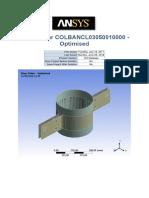Riser Collar COLBANCL03050010000 Mechanical FEA Report