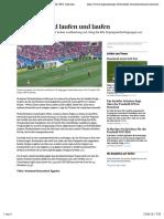 Sie Laufen Und Laufen Und Laufen - News Fussball-WM