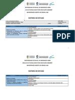 Instrumento Básico - Piano ou Teclado Eletrônico (2018/2) - Roteiro de Estudos