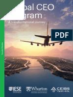 Global Ceo Program Brochure