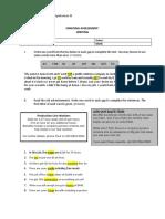 Business Vocabulary Quiz