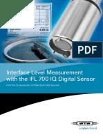 Flyer 2 Sludge Level Measurement