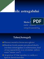 Fracturile Astragalului