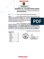 Disp Com Nº 146 Matriz Recojo de Informacion
