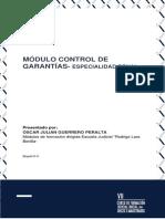 Modulo - Control de Garantías