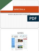 Oficina 4 - Sites e blogs educacionais