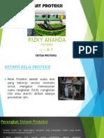 Rizky Ananda 150150065 Sistem Proteksi a-1