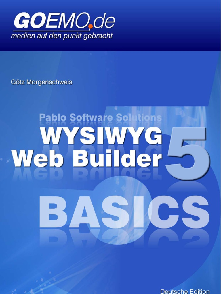 WYSIWYG Web Builder 5 Basics - Deutsch