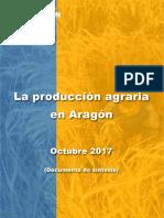 La producción agraria en Aragón