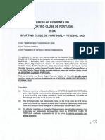 Comunicado da Comissão de Gestão do Sporting Clube de Portugal