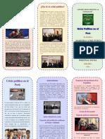 Tiptico Crisis Politica en El Peru