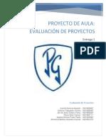 Entregable 1 Evaluacion de Proyectos