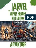Marvel Nth Adventure Book Revised