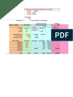 Funding Valuation Worksheet 3