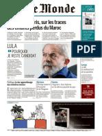 Journal Le MONDE Du 18 Mai 2018