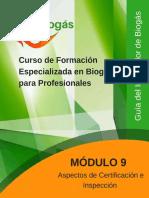 Biogas Modulo9 Certificacion e Inspeccion 11 2017