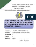 Informe de Torres de Alta Tension