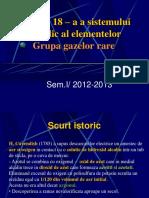 prezentare grupa 18 Sistemul periodic