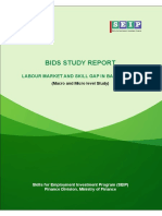 BIDS STUDY REPORT - LABOUR MARKET AND SKILL GAP IN BANGLADESH
