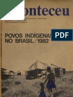 Aconteceu Especial (número 12) - Povos Indígenas no Brasil 1982