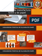 Procesos de Manufactura Textil y de Papel