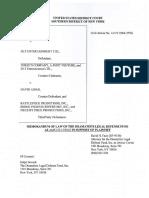 The Dramatists Guild of America Memorandum of Law 14civ0568