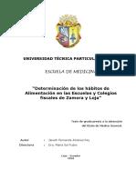 Jimenez Rey - Medicina HABITOS