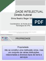 Apresentação Propriedade Intelectual 2012-Parte 1 Direitos Autorais