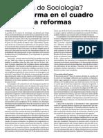 Una Reforma en El Cuadro de Contra Reformas